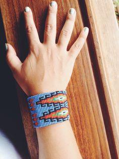 Nica navajo design beaded bracelet
