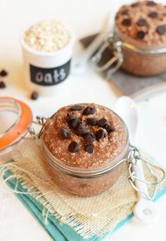 Vegan Chocolate Chai Overnight Oats
