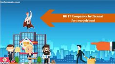 There are multiple people who are residents and non-residents who are in search of a job. Thus, a number of IT companies in Chennai offer job along with growth in career.Here The list of The IT companies in Chennai  are mentioned in detail along with their Address, numbers of team members, turnover, owners.