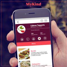 Imagine uma rede social onde empreendedores de street food podem se conectar com seus clientes, fornecedores e descobrir novas tendências no mundo. Seja um dos primeiros a baixar o app: www.mykind.com.br