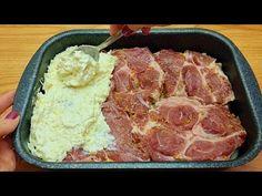 Rețetă incredibil de delicioasă pentru carne la cuptor! Cina grozavă în 10 minute! # 111🔝❗❗ - YouTube Lamb Dishes, Side Dishes, Easy Cooking, Cooking Recipes, Korean Food, Bon Appetit, Food Videos, Food And Drink, Yummy Food