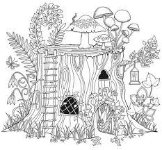 Afbeeldingsresultaat voor Inspirational coloring pages from Secret Garden, Enchanted Forest and other coloring books for grown-ups.