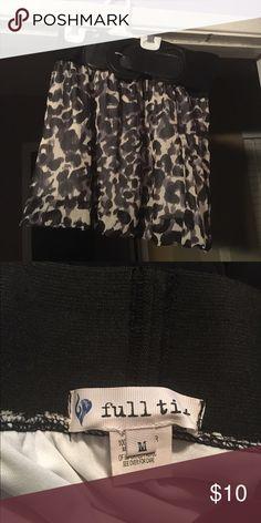 Selling this Leopard skirt with attached belt on Poshmark! My username is: ashleyolson7. #shopmycloset #poshmark #fashion #shopping #style #forsale #Full Tilt #Dresses & Skirts
