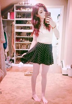 Chrissy) I'm wearing this to prom. Yeah, I know It's not a dress and I don't care. I've got nobody to impress anyways... I'm just the girl that nobody noticed.