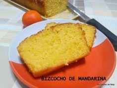 la cocina de nely: BIZCOCHO DE MANDARINA