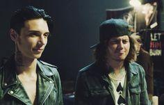 "Andy Biersack and Ben Bruce in ""American Satan"""