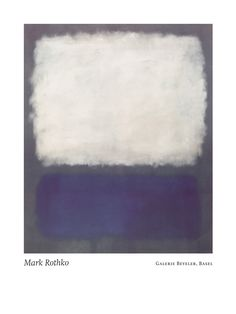 Blue And Grey 1962 By Mark Rothko