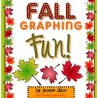 Fall Graphing Fun!  Your students will have fun spinning and graphing four different types of fall leaves with this freebie center for math.  Make ...