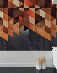 Pattern Wall Tiles bring bursts of pattern into standard home and office spaces in a whole new way. With Pattern Wall Tiles, you can create an accent over a bed, on an interior door or frame a small section of a wall. The tiles are self-adhesive and can be repositioned and moved easily. They are completely customizable and can be cut, crafted, and arranged in a number of ways. Rotate them, combine patterns and use on any smooth flat surface.These self-adhesive fabric wall tiles are…