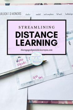 One click resources to make distance learning less daunting Spanish Teacher, Spanish Classroom, Teaching Spanish, Study Spanish, Spanish Lessons, Spanish 1, Teacher Lesson Plans, Teacher Resources, Teacher Blogs