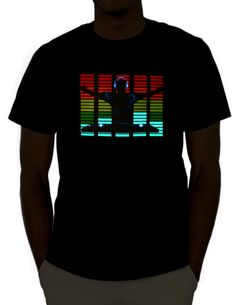 DJ LED Shirt