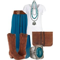 """""""Cowgirl Chic"""" by thecowgirlwaymagazine on Polyvore"""