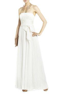 Nena Crinkle Satin Dress