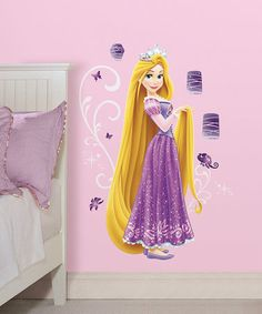 RoomMates Disney Press Rapunzel Peel And Stick Giant Wall Decals * For More  Information, Visit Image Link.