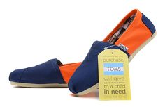 orange and blue toms - Google Search