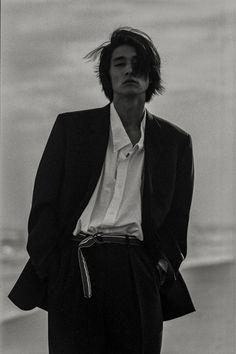 shintaro yuya by kiyoe ozawa (not vintage but looks like it) Beautiful Boys, Pretty Boys, Cute Boys, Beautiful People, Foto Cv, Poses, Portrait Photography, Fashion Photography, Photographie Portrait Inspiration