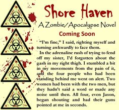 The contractors are painting my bathroom. Yay!!! The old people have been up since 6:30 this morning, so I'm tired and writing slowly. I did make my daily word count goal, which has kept me on schedule for the week. Here's a snippet from Shore Haven for you to enjoy.  #shorehaven #wip #zombie #apocalypse #jenniferreynolds
