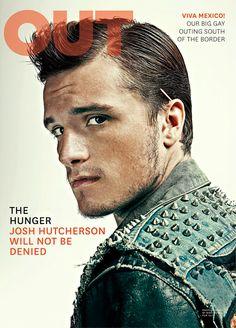 """Josh Hutcherson, protagonista de """"The Hunger Games"""" es el chico de [PORTADA] de noviembre de la revista OUT"""