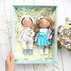 "365 Me gusta, 4 comentarios - @tatiana_nedavnia en Instagram: ""Еще одна пара уехала домойростик 27-25смСшиты на заказ#tatiananedavnia #tilda #wedding #pink…"""