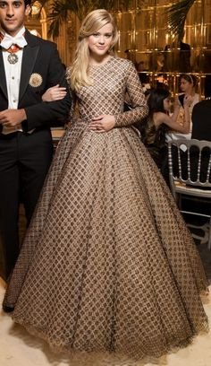 Ava Phillippe in Giambattita Valli COuture attends the Le Bal des Débutantes in Paris. #bestdressed