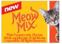 FREE Cup of Meow Mix Pate Toppers (Available Again) on http://hunt4freebies.com