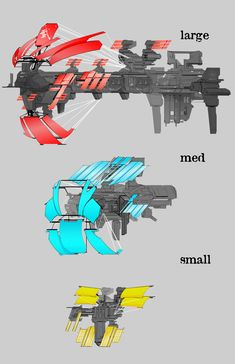 ArtStation - Engine Comp and Ship Parts, Chris Ortega Spaceship Art, Spaceship Design, Starship Concept, Sci Fi Ships, Sci Fi Weapons, Concept Ships, Futuristic Art, Weapon Concept Art, Space Crafts