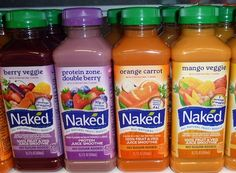 Naked has just agreed to settle a 9 million dollar class action lawsuit for false labeling. As it turns out, the drinks include 11 chemical additives, including one derived from Formaldehyde! Wtf Fun Facts, Crazy Facts, Random Facts, Strange Facts, Breakfast Smoothies, Fruit Smoothies, Juice Smoothie, Get Healthy, Drinks