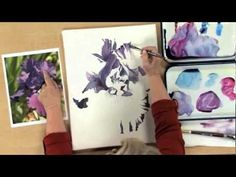 Beginning a Watercolor Painting with Nancy Couick - Part 2 of 5 - YouTube
