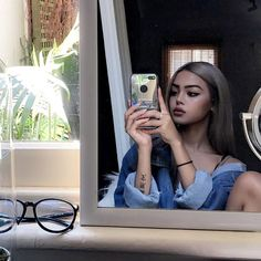 Lily Maymac, Ariana Grande Hair, Forest Tattoos, Makeup Pictorial, Cute Faces, Girl Crushes, Pretty Face, Girl Pictures, Pretty Girls