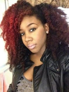 {Grow Lust Worthy Hair FASTER Naturally}>>> www.HairTriggerr.com <<<     Nice & Thick Jazzed Up with Red