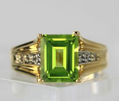 #Diamond 10k Yellow #Gold Peridot Tapered Wide Band Ring Size 7 #Jewelry #Fashion http://www.ebay.com/itm/-/401191801872?roken=cUgayN&soutkn=UCdhO2 via @eBay