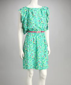 $19.99 Jade Spotted Dress by Shelby & Palmer on zulily today.  Pretty spring dress!