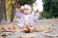 Our 7 month fall baby photos #babyphotography #babyphotos #fallphotoideas