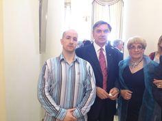 Prince Jorge Rurikovich with The Russian Ambassador Yuri Petrovich Korchagin