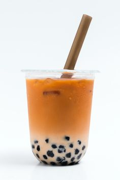 Thai Tea Boba, Thai Milk Tea, Bubble Drink, Bubble Milk Tea, How To Make Cappuccino, Boba Drink, Milk Ingredients, Tea Brands, Tea Packaging