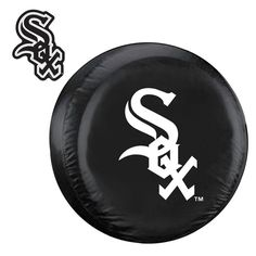Chicago White Sox MLB Spare Tire Cover and Grille Logo Set (Large)