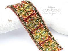 Bokhara 2013 - trytobead - Pattern