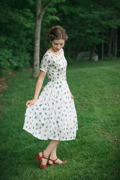 1958 party dress pattern from sense & sensibility patterns