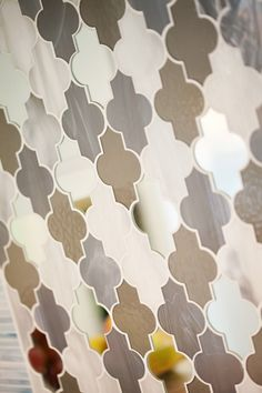anne sacks marrakech mosaic tile backsplash // kitchen detail #tile