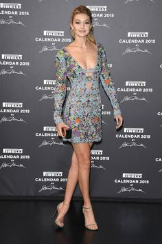 The best looks from last night's Pirelli Gala in Milan: Gigi Hadid