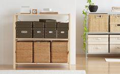 パイン材ユニットシェルフ   無印良品の収納   生活雑貨特集   無印良品ネットストア Muji, Lockers, Locker Storage, Divider, Cabinet, Interior, Room, Furniture, Home Decor
