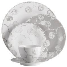 Botanic Leaf Collection- Dinner Plate $42 / Salad Plate 34$ / TidBit Plate $19 / Saucer $24 / Cup $36