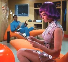 """Gabrielle Drake in """"U."""" Gabrielle Drake (born 30 March is the British actress who is memorable to all science fiction fans as Lt. Sci Fi Movies, Movie Tv, Drake, Sci Fi Tv Series, Space Series, K Om, Science Fiction Series, Retro Futuristic, British Actresses"""
