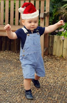 Christmas revolves around children, and the Royal Family are no exception. Prince George (pictured) will be the star of the day and is said to have a fondness for toy trains and animals and is a keen swimmer