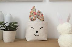Un sac lapin pour la chasse aux œufs de Pâques #AuchanEtMoi #auchan