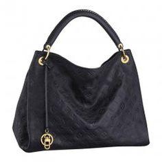 71c3405b14b Artsy MM Black Louis Vuitton Bag