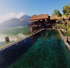 Natural Hot Springs, mt Batur - Bali, Indo