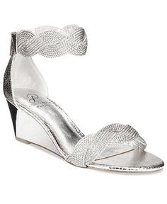 98161433a6d1 Silver Wedges - Macy s. Silver Wedge SandalsSilver ...