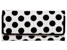 Dot On  WHITE CLUTCH $18, Bongo; sears.com/bongo.