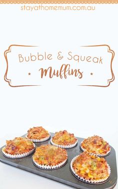 Bubble & Squeak Muffins